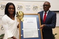 Olympian Elaine Thompson Awarded Chancellor's Medal