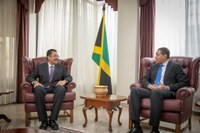 President Vasciannie Pays Courtesy Call on Prime Minister