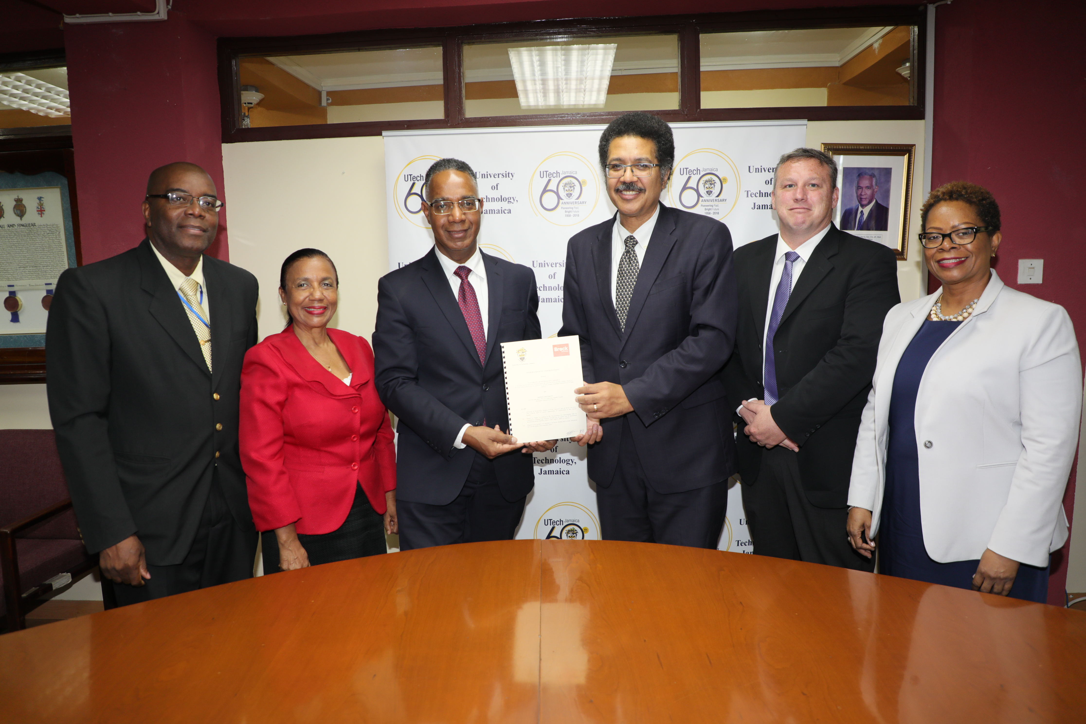 UTech, Jamaica and Brock University Sign MoU  to enhance Scholarship and Research