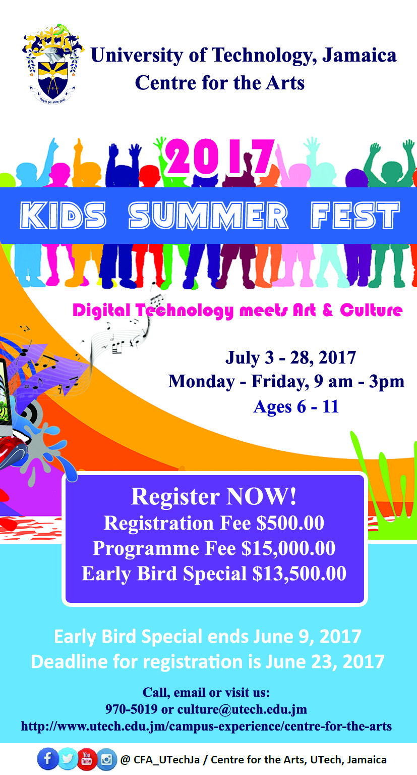 UTech, Jamaica Arts & Culture Summer Programme for Children to Highlight Jamaican Oral Traditions through Digital Technology