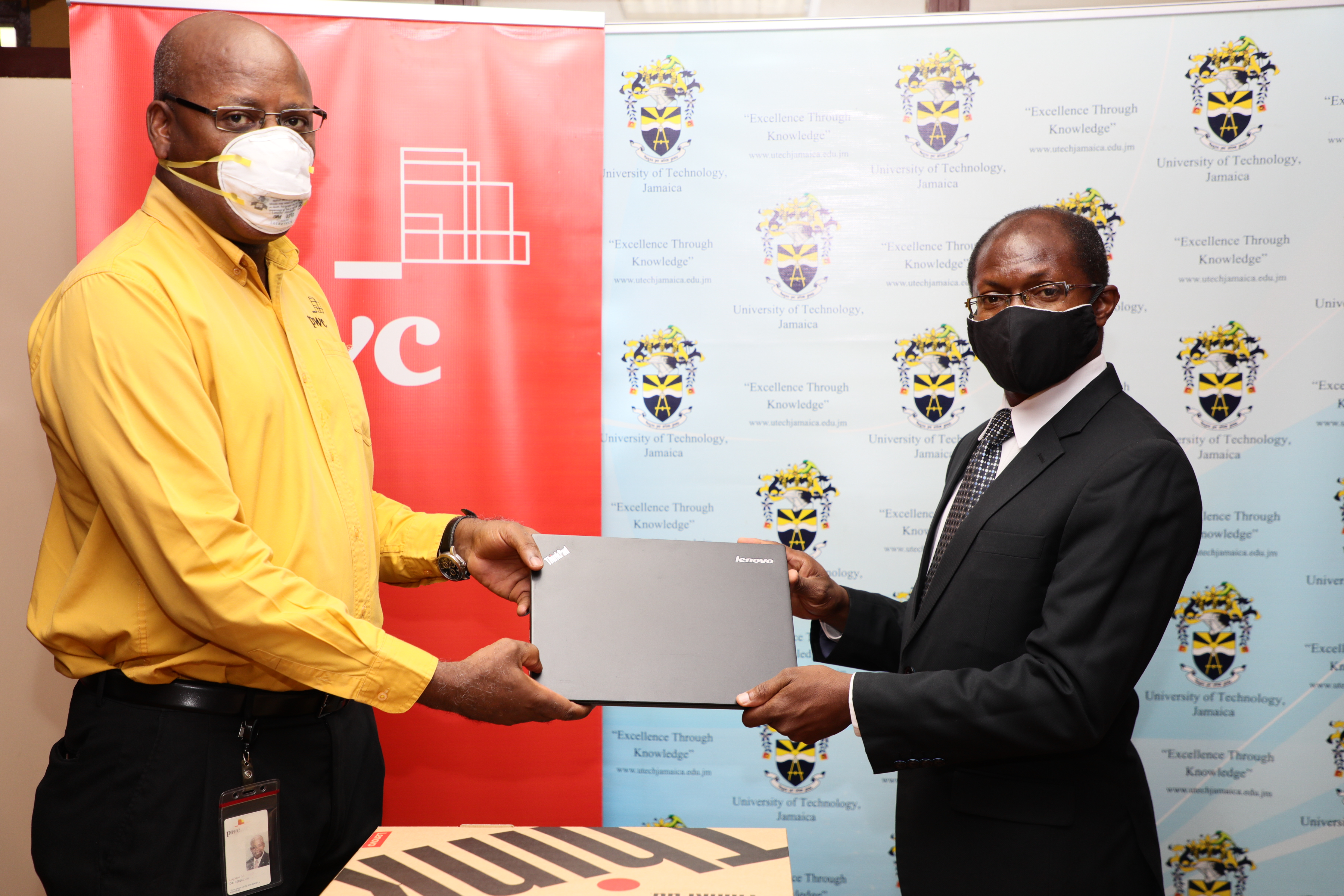 PricewaterhouseCoopers Donates Laptops to Support Students in Need