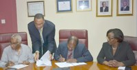 UTech, Jamaica Signs Franchise Agreements with Local Colleges for Pharmaceutical Technology Programmes